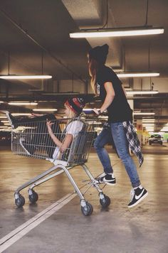 """LIV!!!"" Maisie squealed, as I charged forward with the shopping cart. ""MAYYY!!!"" I mimicked as we gained speed. ""LIV A LITTLE!"""