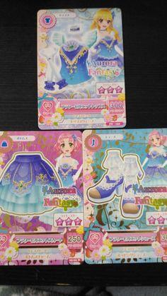 "Trading card of Japanese Idol Animation ""AIKATSU"" Flower Piroue coord 44"