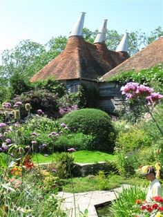 oast houses at Great Dixter, Northiam, East Sussex
