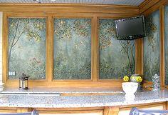 Cabana Frescoes