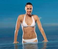 Drop a size in two weeks with our refreshing water workout.
