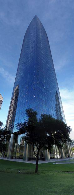 Torre YPF, la torre más bella de la argentina. Es de Pelli.