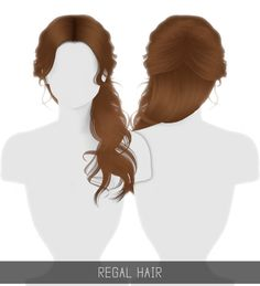 Cabelo The Sims 4 Longo Los Sims 4 Mods, Sims 4 Game Mods, Sims 4 Mods Clothes, Sims 4 Clothing, Packs The Sims 4, Sims Stories, Play Sims 4, The Sims 4 Cabelos, Pelo Sims