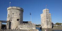 Historic La Rochelle with its medieval towers at the harbour entrance. Well worth a visit if you are in the Charente Maritime http://www.poitou-charentes-vendee.com/charente-maritime/introduction/