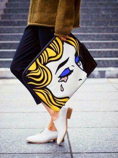 АРТ-ПРИНТ. Картины на твоей одежде или тренд сезона весна-лето 2014