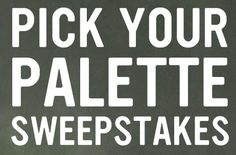 West Elm and Benjamin Moore are organizing the Pick Your Palette Sweepstakes and are giving away the chance to win $15,000 in prizes!