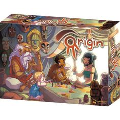 Origin board game. A modern classic.