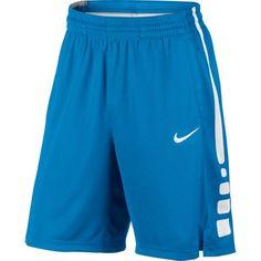 Nike Men's Elite Stripe Basketball Shorts, Size: Small, Blue