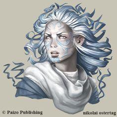 Syph #Femme #Humain - Artiste : NikolaiOstertag.deviantart.com