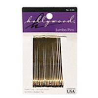 Hair Accessories Hollywood Jumbo Bobby Pins - Bronze (36 pins) by Hair Accessories. $1.99. Highest Quality Hair Accessories available. Sorry there is no further description for this product (36 pins)