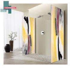scénographie oeuvre d'art | B_indoor | www.b-indoor.com/ #decoration #design #agencement #contemporain #art #mobilierdesign #amenagement #plans #scénographies #bathroom #salledeau #douche #shower