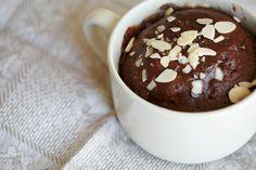 chocolat, dessert, recette, mug cake, mugcake, gâteau dans une tasse, gâteau au chocolat, dessert light, recette régime, chocolat allégé, mug cake minceur