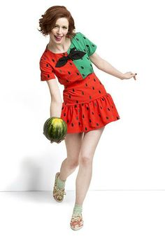 Now I see. It's all in support of a watermelon bowling league. Must be a new sport.