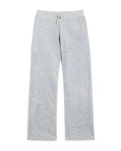 Juicy Couture Black Label Girls' Mar Vista Velour Pants, Sizes 8-14 - 100% Bloomingdale's Exclusive