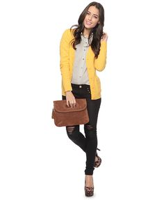 Cute outfit, really love the cardigan!