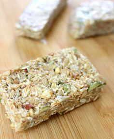 These Nut and Seed granola bars are packed with a variety of ingredients rich in healthy fats, with honey bringing out an overall sweet flavor. See the recipe.