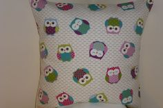 Kids Children Cushion Cover in a Funky Quirky by DitzyDotty