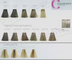 Colorance color chart jpg 452 230 goldwell color pinterest