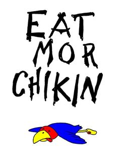 Eat More Chikin!  Go Cats!!