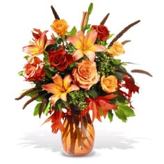 Fall into the season with a Fantastic Fall arrangement!