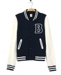 Something like this jacket for your sporty look.  maybe even black on black on black