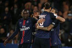 Le PSG écrase Guingamp et conforte sa première place
