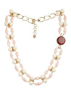 Valentina Brugnatelli Ornella Swarovski & crystal necklace