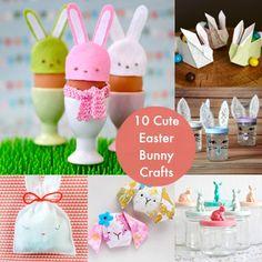 10 Cute Bunny Crafts