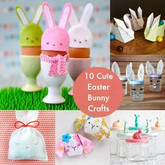 10 cute Easter bunny crafts