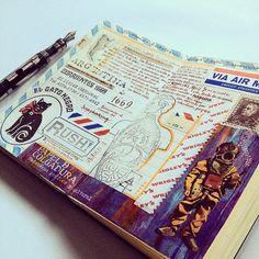 Best travel journal ideas out there!  José Naranja @jose_naranja Instagram photos | Websta (Webstagram)