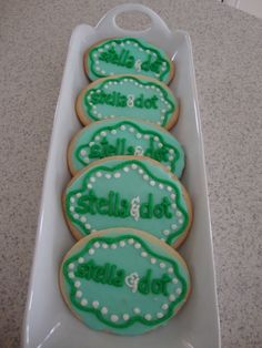 Cute Stella and Dot cookies for a trunk show