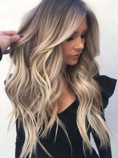 Balayage Hair Blonde, Brown Blonde Hair, Brown Hair With Highlights, Blonde Ombre, Light Brown Hair, Blonde Highlights, Black Hair, Color Highlights, Blonde Honey