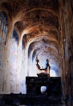Paul Dmoch King's College Chapel de Cambridge ...