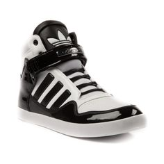 Shop for Mens adidas ADI-Rise 2.0 Athletic Shoe in White Black at Journeys Shoes. Shop today for the hottest brands in mens shoes and womens shoes at Journeys.com.Theres nothing quite like the harmonious collision of swag and comfort. The adidas Adi-Rise 2.0 features a leather and patent mixed upper, hook and loop closure strap, lace closure, and rubber sole. Available exclusively at Journeys!