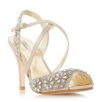 Buy Linea Molana embellished cross strap high heel sandals, Gold £72 from Women's High Heel Sandals range at #LaBijouxBoutique.co.uk Marketplace. Fast & Secure Delivery from House of Fraser online store.