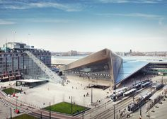 MVRDV will build The Stairs  to mark 75 years since Rotterdam began its recovery from the second world war