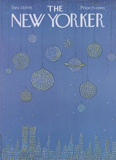 The New Yorker - Monday, December 27, 1976 - Issue # 2706 - Vol. 52 - N° 45 - Cover by : Saul Steinberg
