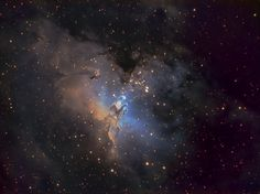 M16 Eagle Nebula SHO September 23 2012 Amateur Astronomy Picture of the Day - Astronomy.FM