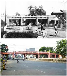Jembatan KA Jatinegara Old Pictures, Old Photos, East India Company, Classic Building, Dutch East Indies, Old City, Jakarta, Southeast Asia, Old Town