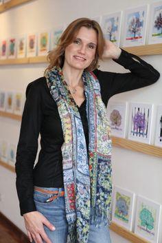 Cristina Bottallo, artesã e parceira do Clube de Artesanato (clique na foto e confira o editorial de fevereiro/2013).