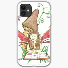 Niina Niskanen is an independent artist creating amazing designs for great products such as t-shirts, stickers, posters, and phone cases. Fairy Paintings, Green Paintings, Fantasy Paintings, Fantasy Art, Summer Tunes, Male Fairy, Green Art, Fairy Art, Butterfly Wings