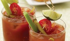 Spicy Tequila Bloody Mary-Never had a tequila bloody mary