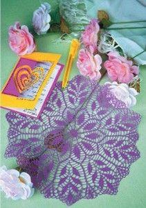 purple doily
