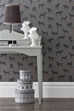 Buy Dogs Wallpaper from the Next UK online shop