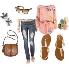 Lets Go Fresh N Casual, Created By Rach-248 On Polyvore - Click for More...