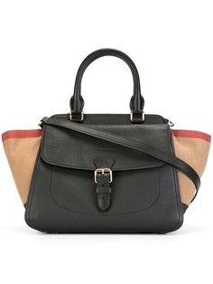 Shop Burberry medium 'Harcourt' tote.