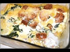 Cooking Light: How to Make Turkey Sausage Spinach Lasagna - CookwithApril