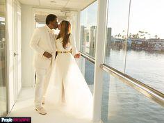 Tina Knowles Lawson Shares Her Gorgeous Wedding Album Celebrity Wedding Photos, Celebrity Dresses, Celebrity Weddings, Tina Knowles, Wedding Attire, Wedding Dresses, Yacht Wedding