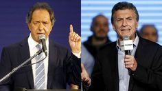Mirá en vivo el primer debate presindencial de la historia Argentina entre Daniel Scioli (Frente para la victoria) y Mauricio Macrio (Cambiemos) Mirá en vi