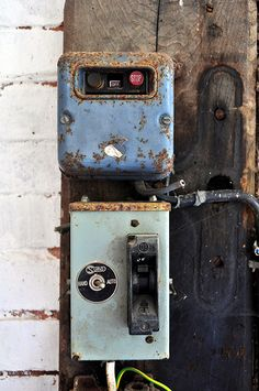 Old Electricity Boxes